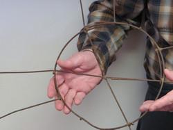 Wire Basket Invention Close Up
