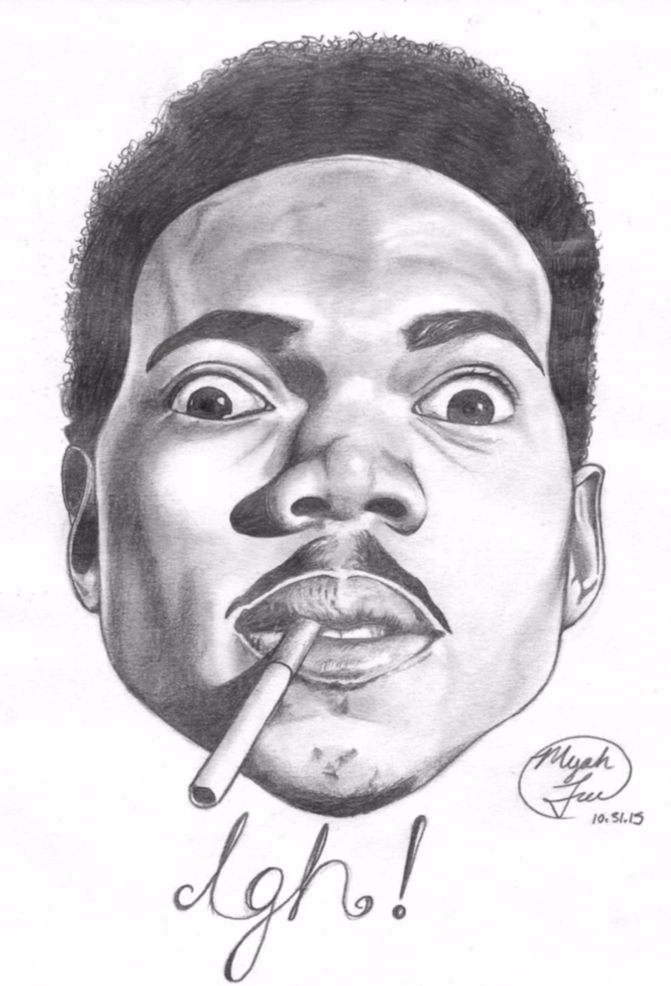 """""""Chance the Rapper"""" 2015"""