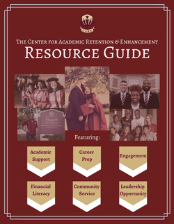 Center for Academic Retention & Enhancement Resource Guide Cover