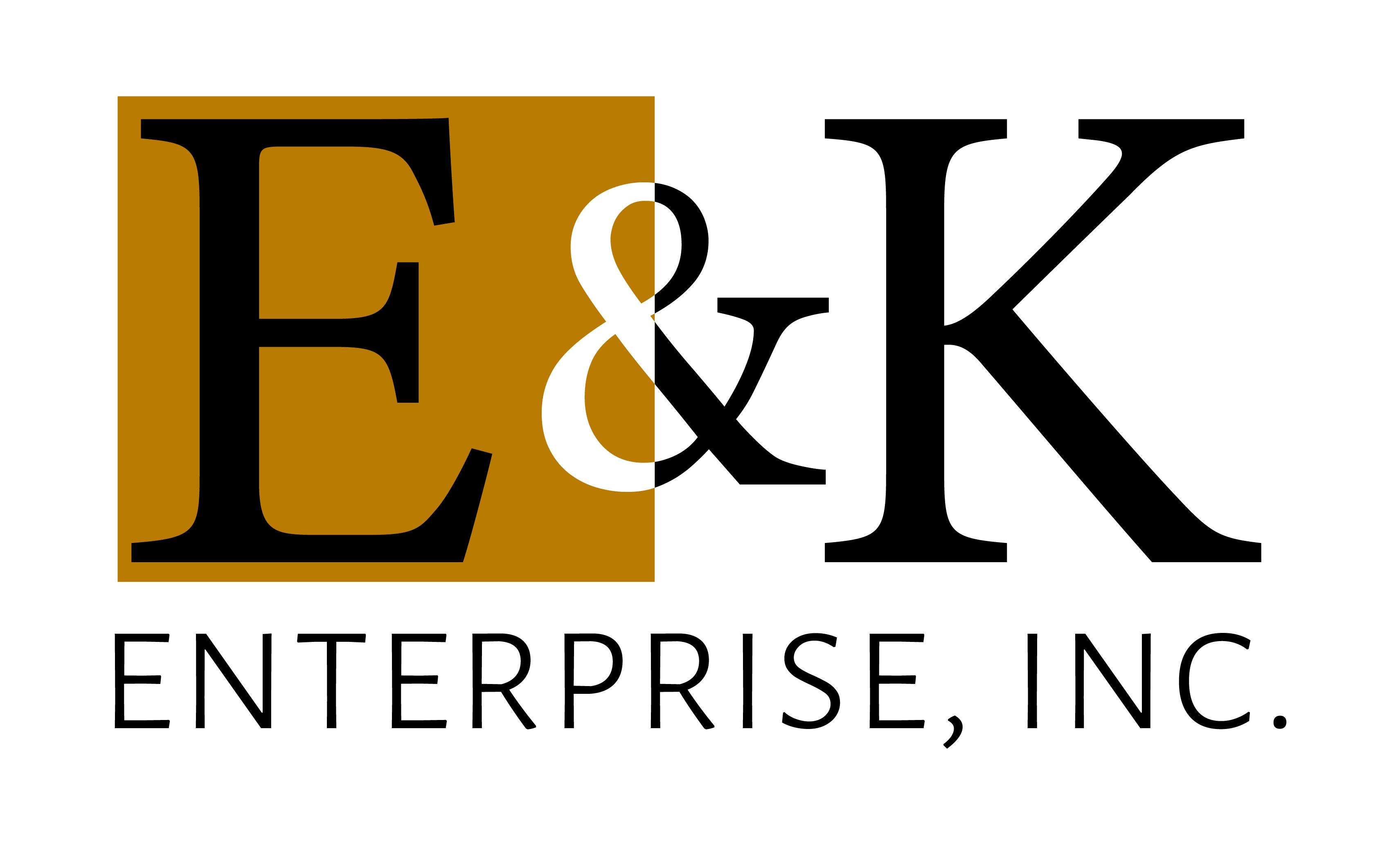 E&K Enterprise, Inc. Logo