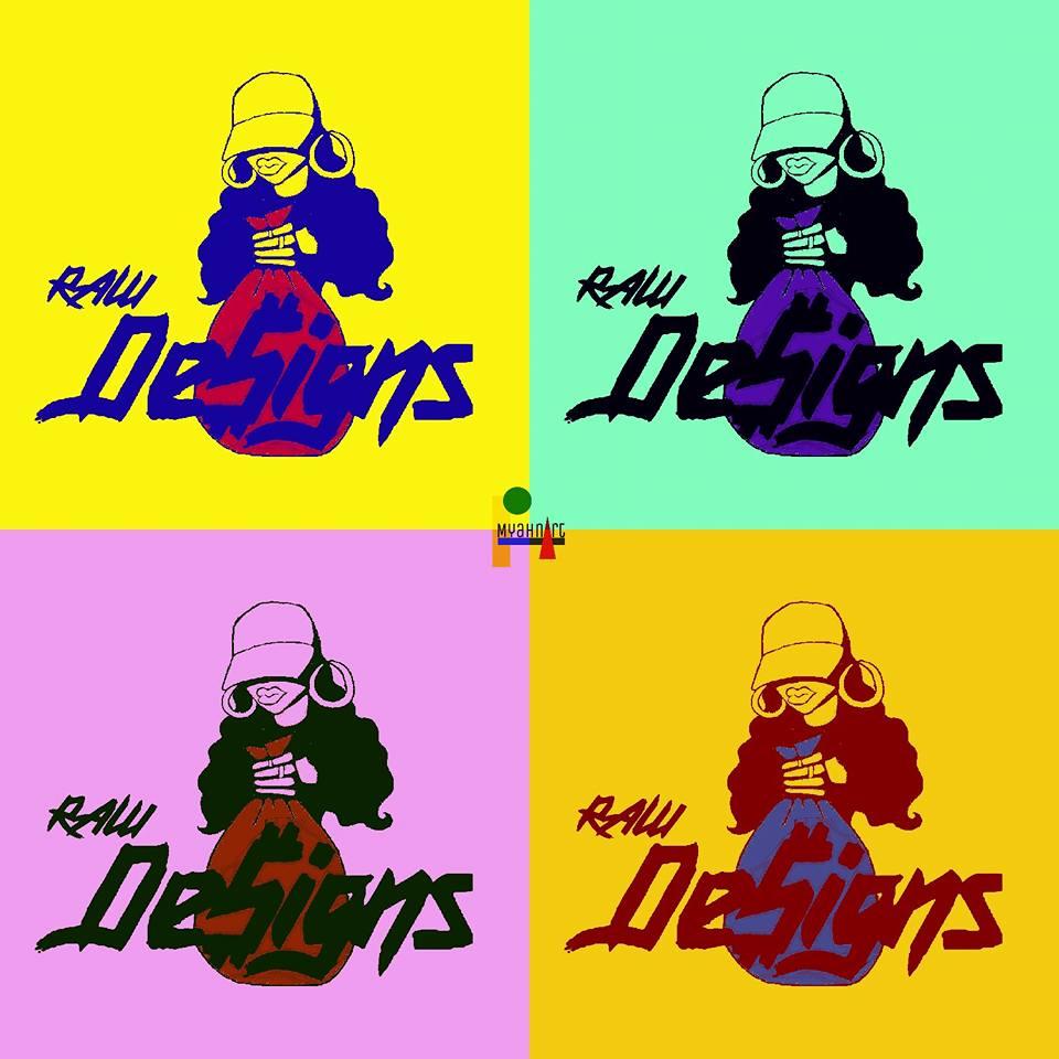 """RAW"" Logo T Shirt Designs 2017"
