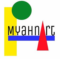 MyahnArt logo design