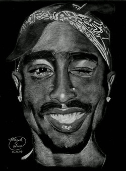 Inverted Tupac with negative filter