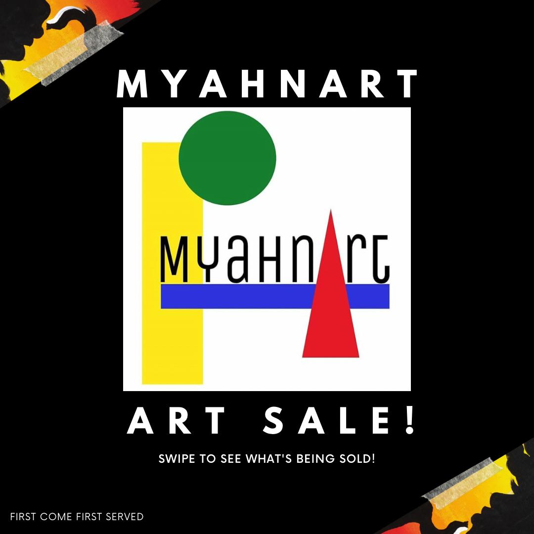 MyahnArt Instagram Page Post