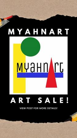 MyahnArt Instagram Story Post