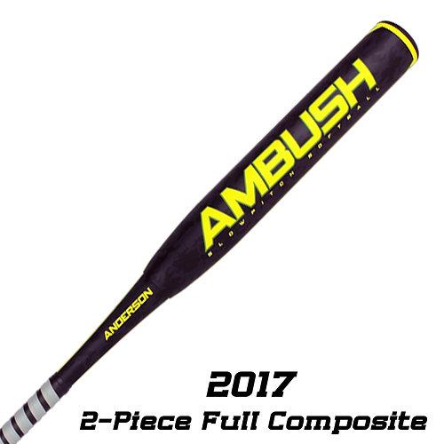 Anderson bat company baseball softball bats california 2017 ambush slowpitch softball asa bat sciox Gallery