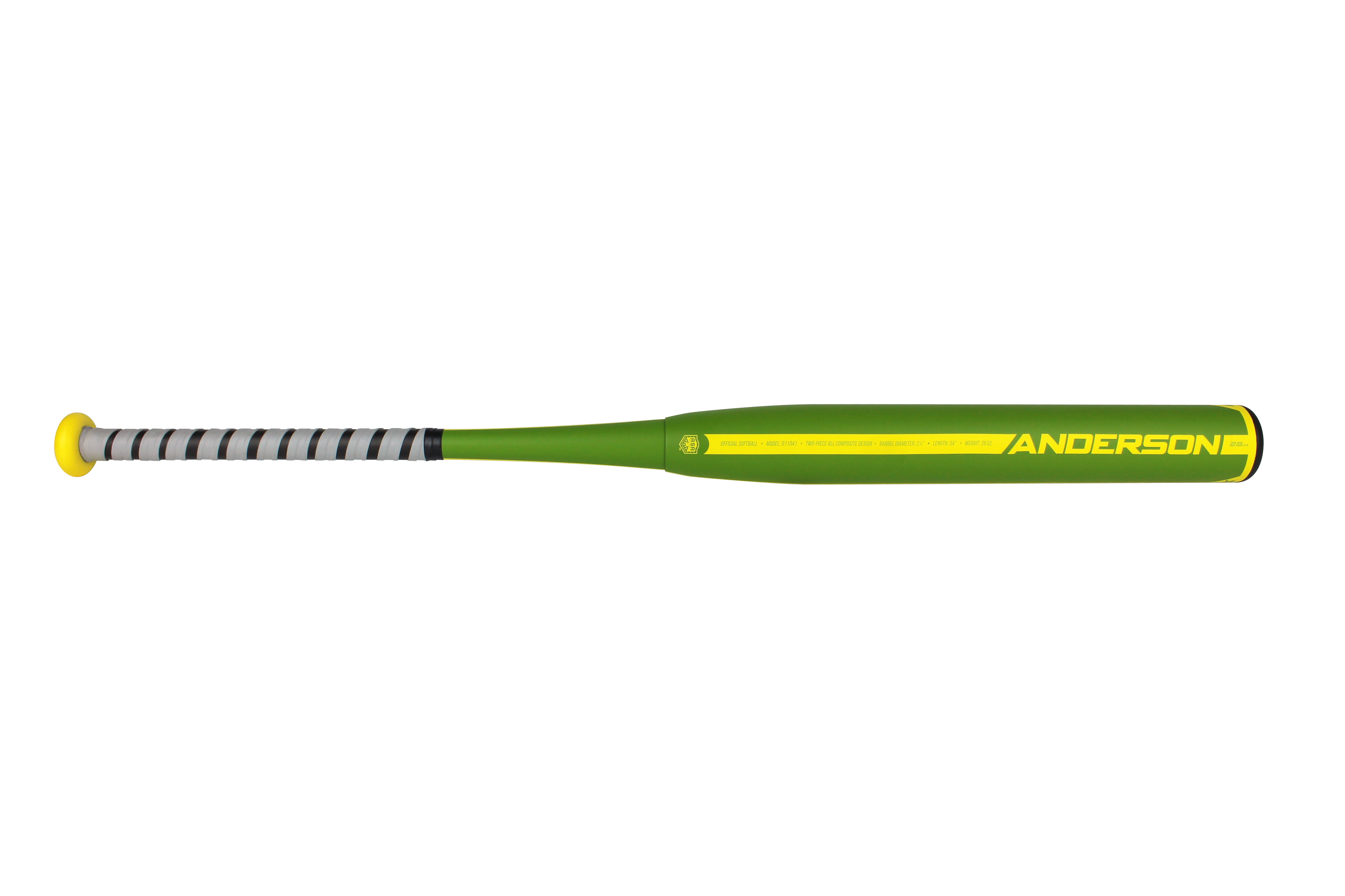 Anderson bat company baseball softball bats california the 2017 ambush slow pitch two piece composite bat is made to give hitters just the right balance of power plus speed with a thin whip handle for sciox Gallery