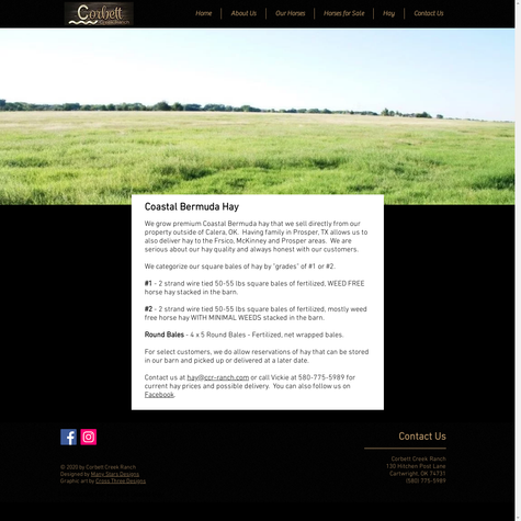 Corbett Creek Ranch - Hay