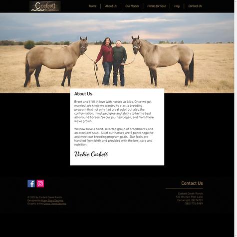 Corbett Creek Ranch - About Us