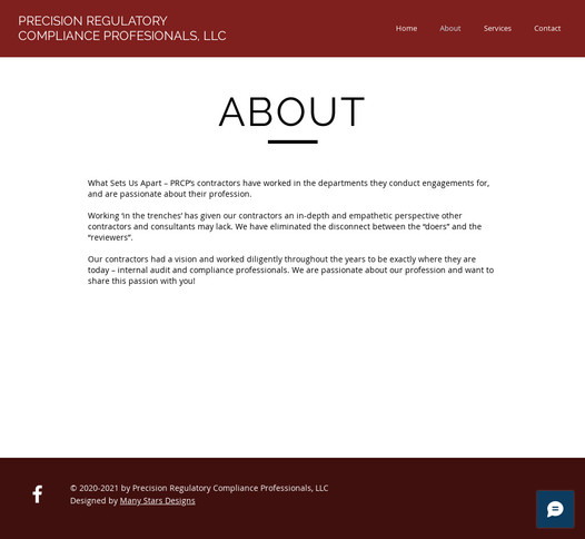 Precision Regulatory Compliance Professionals - About Us