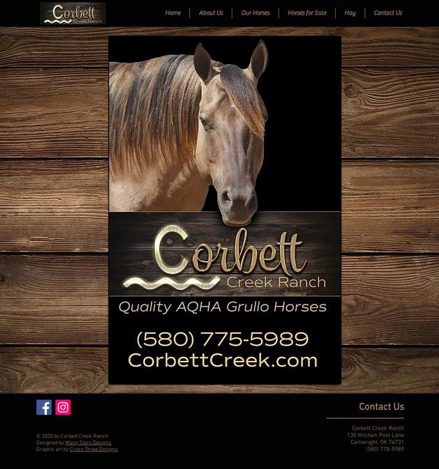 Corbett Creek Ranch - Home