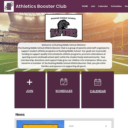 Rushing Middle School Athletic Booster Club