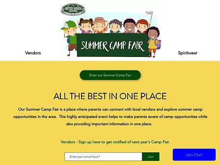 Gifted Minds Prosper Camp Fair