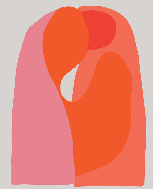 Two Kissing   FE089