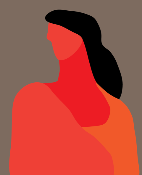Girl in Shawl  PR268