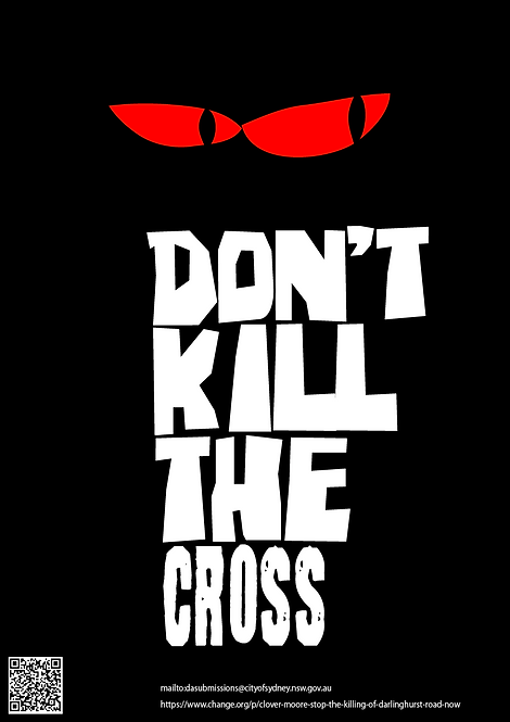 Don't Kill the Cross Poster  CW021