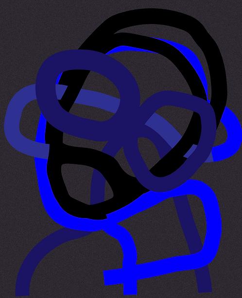 The Blue Man  LD087