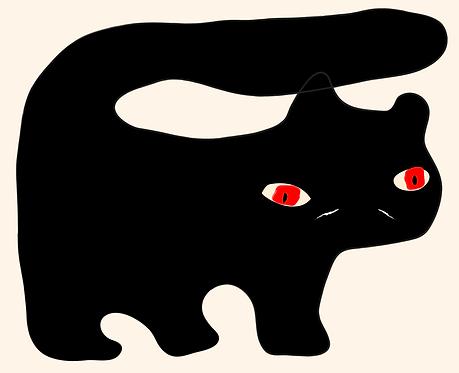The Black Cat  AN110