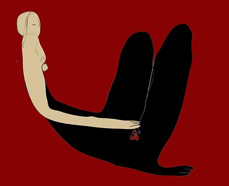 Cherry in Black  PR246