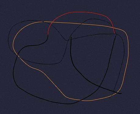Orange Abstraction  LD094