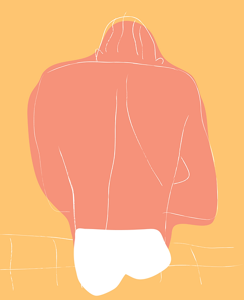 Man in Bathers  LD048