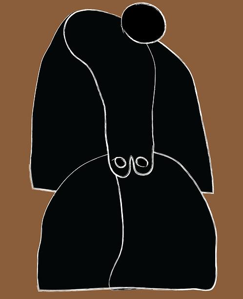 Woman in Cape  FE048