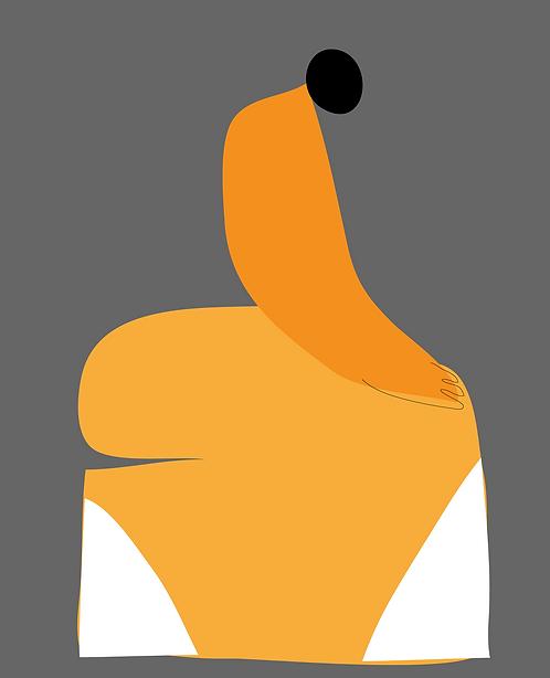The Orange Dress   PR182