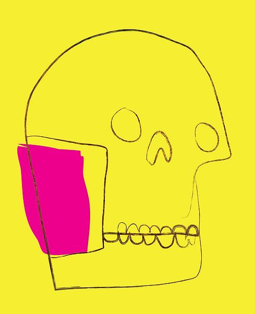 Gold Skull  MKL145