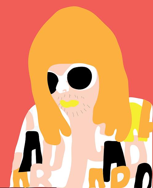Kurt Cobain  PR345