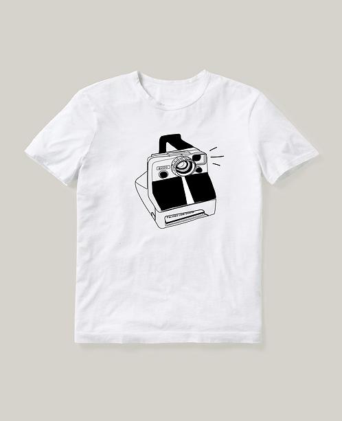 Polaroid Land Camera T-Shirt  CW004