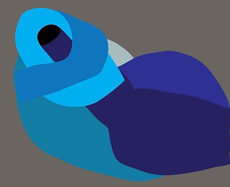 The Blue Nude  PR264