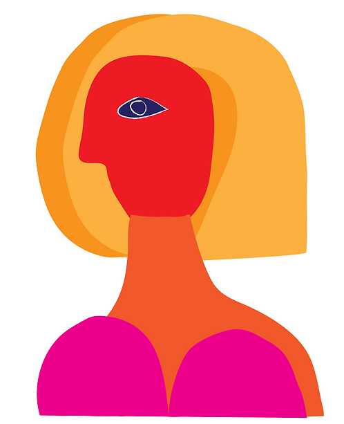 Girl with Orange Hair  PR267