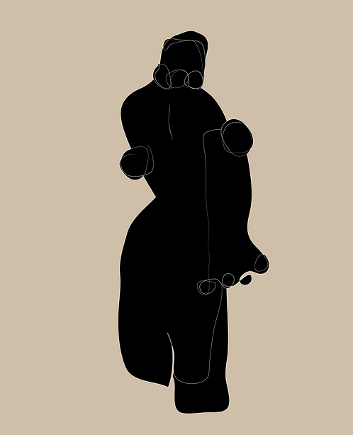 Woman Standing  LD023