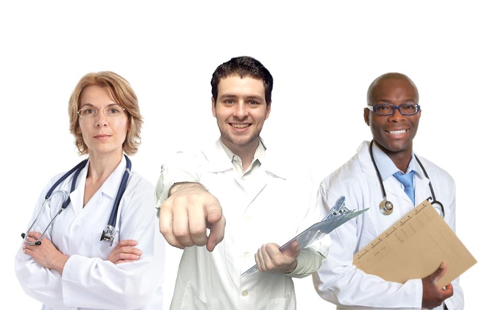 médicos acupuntura, fisiatria, ortopedia, psiquiatria