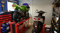 Ninja in workshop
