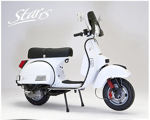 LML Star White RS Auto 125cc  (£2,699 + OTR)