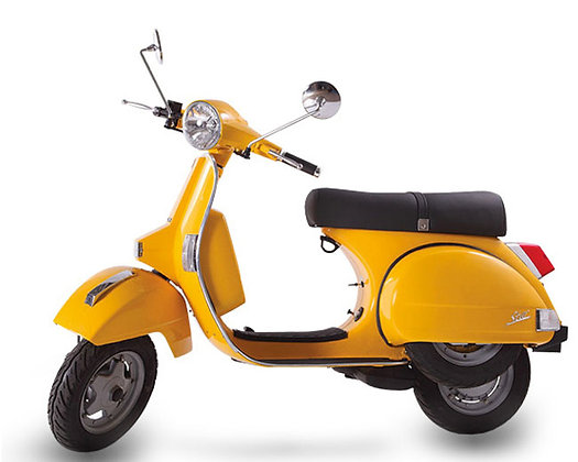 LML Yellow 125cc Auto (£2,499 + OTR)