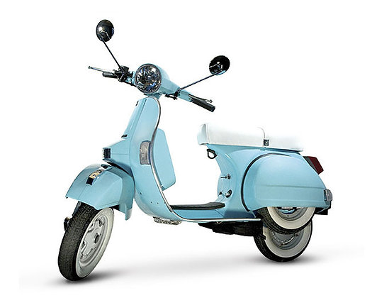 LML Powder Blue 4-T Man 125cc  (£2,399 + OTR)