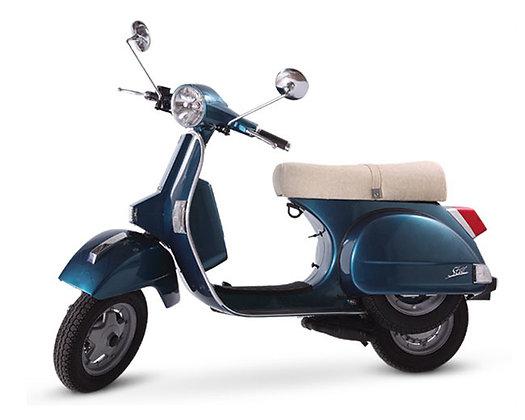 LML Deep Blue 2-T Man 125cc (£2,199 + OTR)