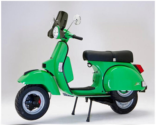 LML Star Vivid Green RS Auto 125cc  (£2,699 + OTR)