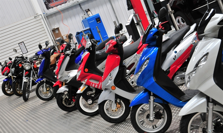 ScooterNation Warehouse
