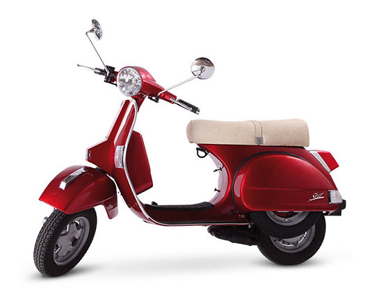LML Metallic Red 4-T Man 125cc  (£2,399 + OTR)