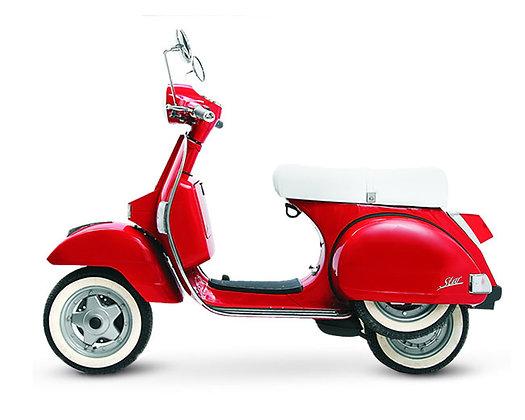 LML Milano Red 2-T Man 125cc (£2,199 + OTR)