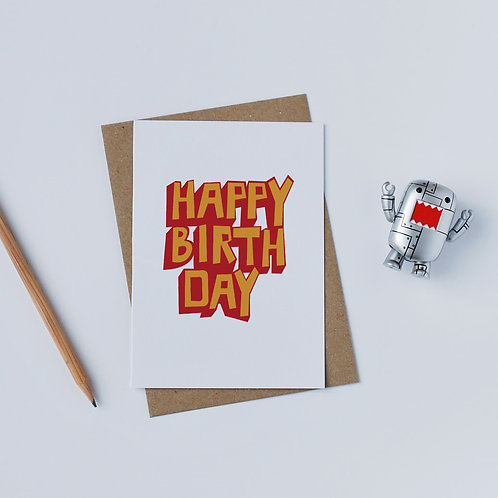 Individual Card (Scary) - Happy Birthday