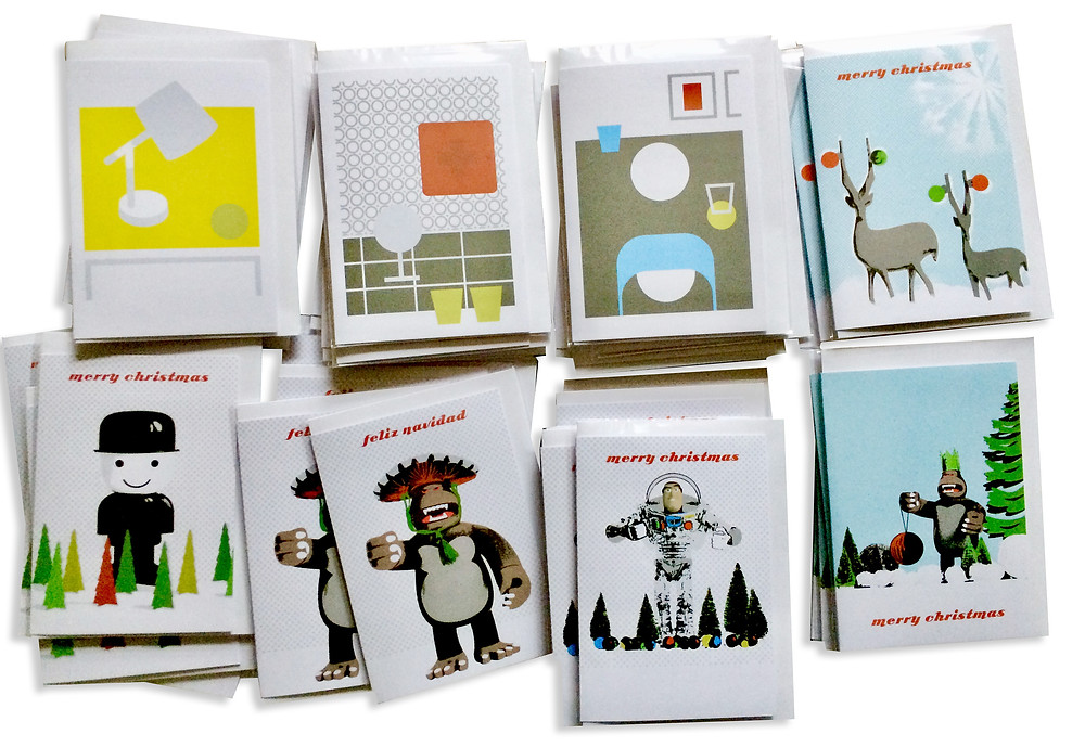 xmas cards are printed on the new Epson R3000. Ready for the pop up shop on saturday.