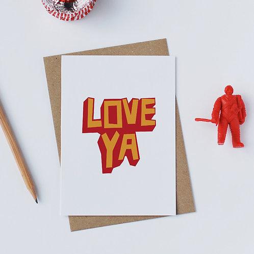 Individual Card (Scary) -Love ya