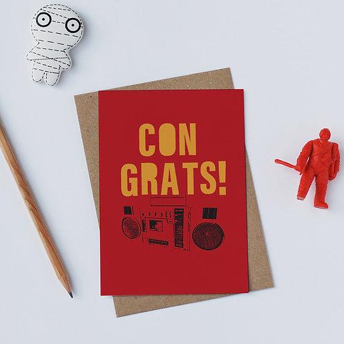 Individual Card (Gadget) - Congrats