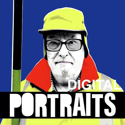 Individual portrait (digital)