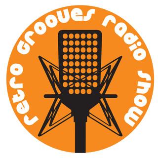 RETRO GROOVES RADIO SHOW LOGO ORANGE