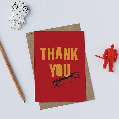 Individual Card (Gadget) - Thank you